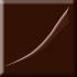 brązowy, matowy (E)